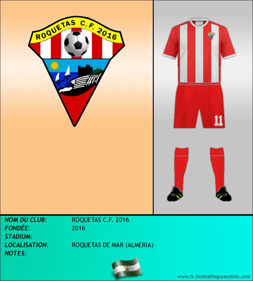 Logo de ROQUETAS C.F. 2016