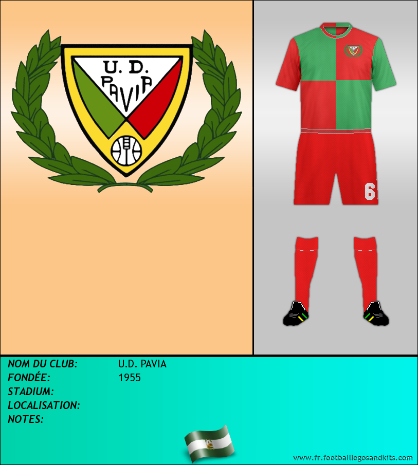 Logo de U.D. PAVIA