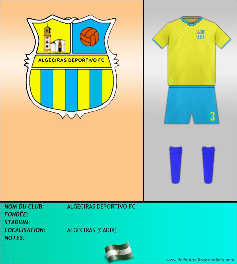 Logo de ALGECIRAS DEPORTIVO FC