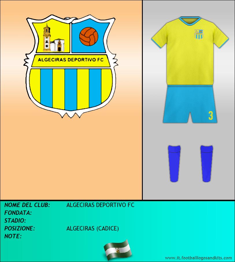Logo di ALGECIRAS DEPORTIVO FC
