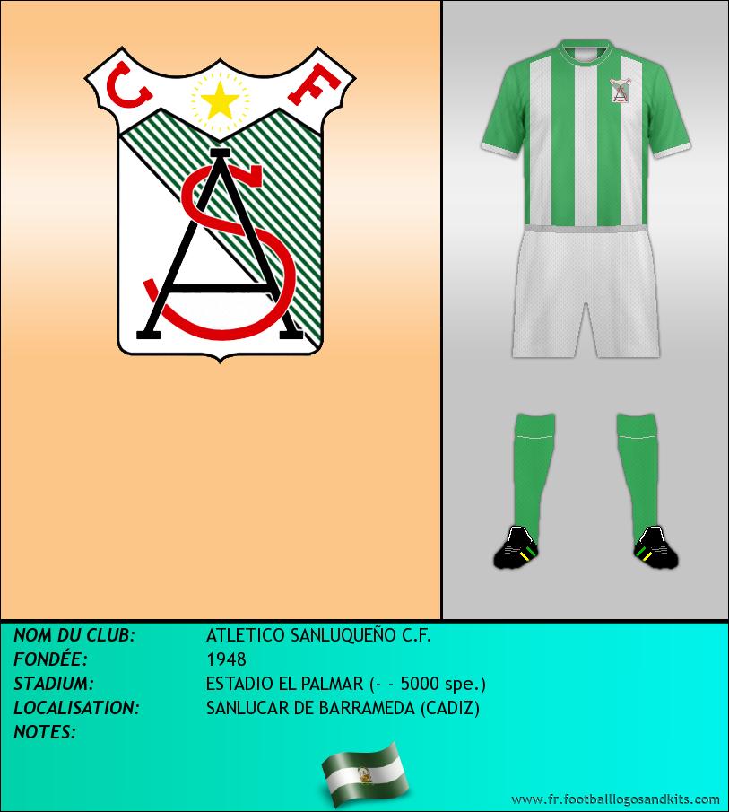 Logo de ATLETICO SANLUQUEÑO C.F.