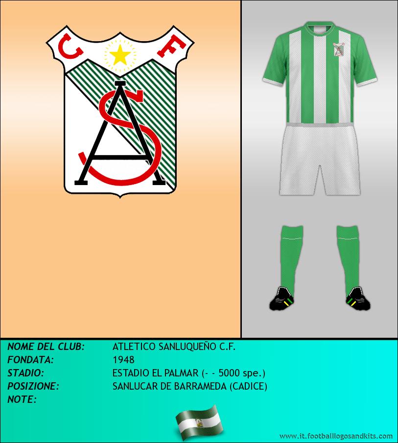 Logo di ATLETICO SANLUQUEÑO C.F.