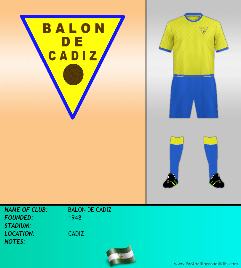 Logo of BALON DE CADIZ