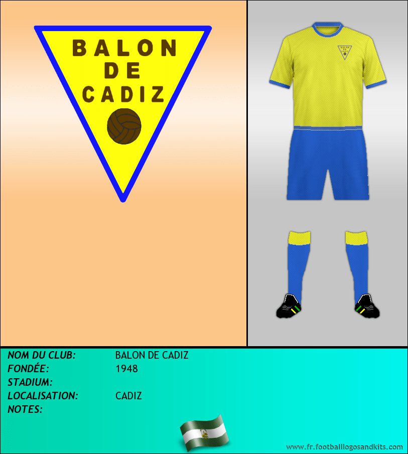 Logo de BALON DE CADIZ