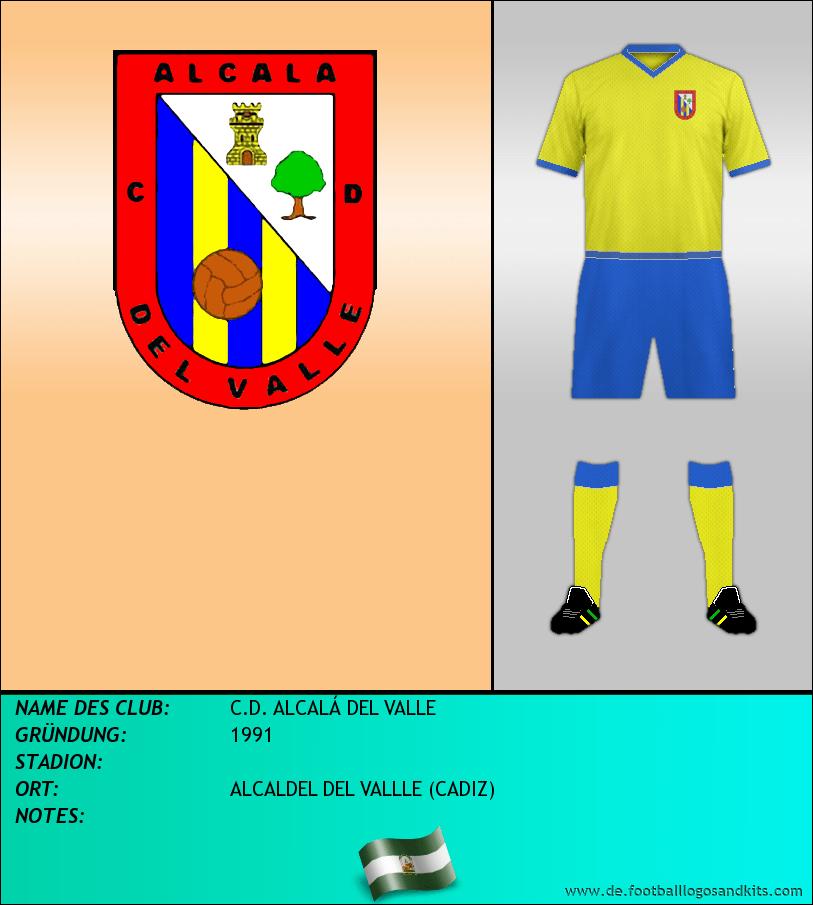 Logo C.D. ALCALÁ DEL VALLE