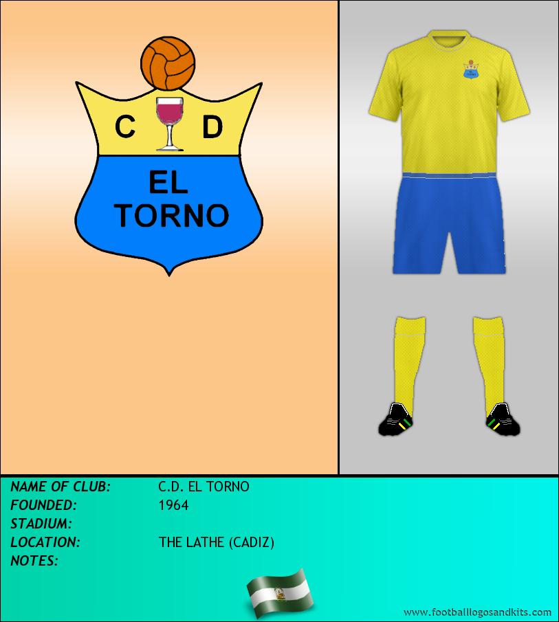 Logo of C.D. EL TORNO