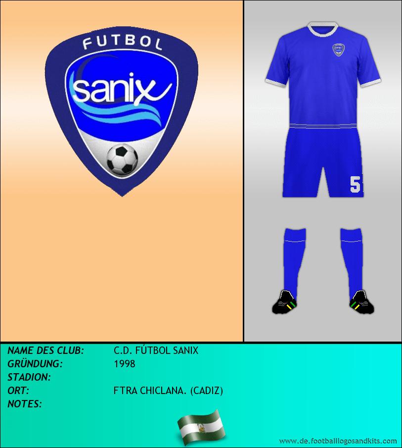Logo C.D. FÚTBOL SANIX
