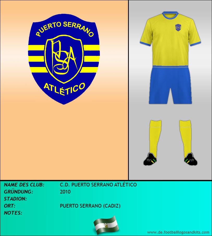 Logo C.D. PUERTO SERRANO ATLÉTICO