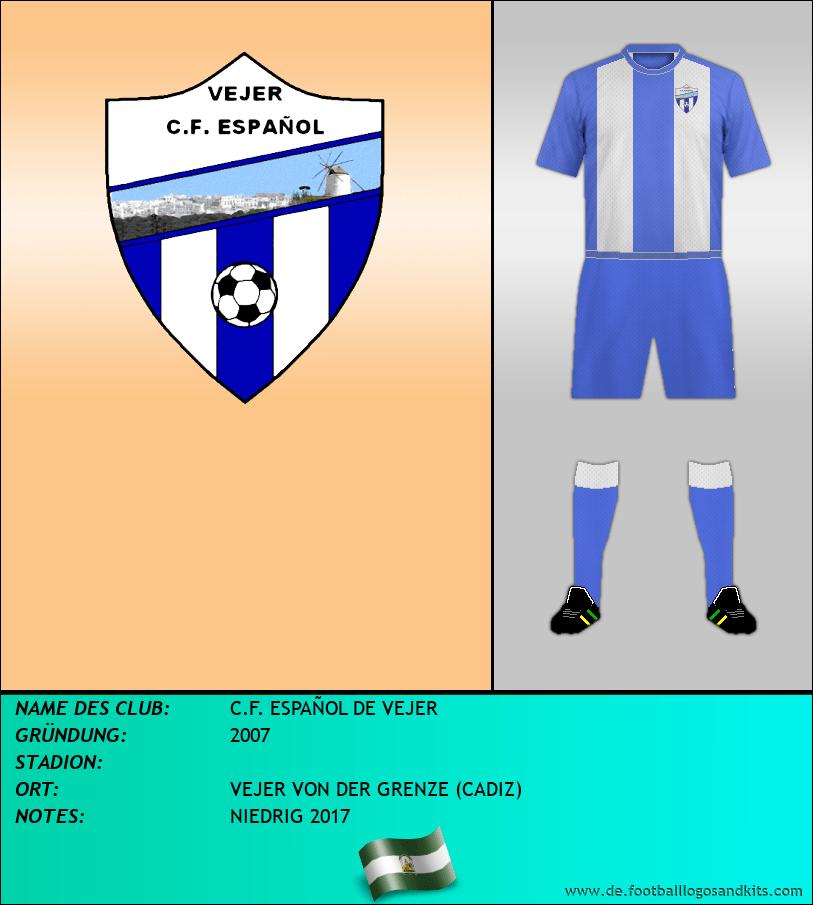 Logo C.F. ESPAÑOL DE VEJER
