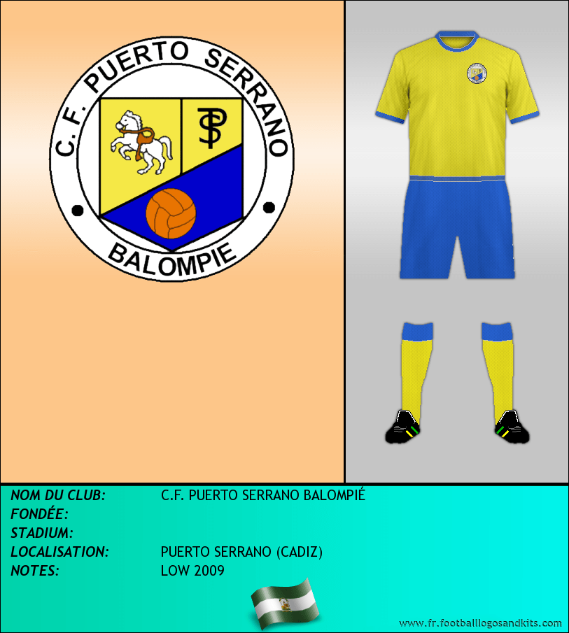 Logo de C.F. PUERTO SERRANO BALOMPIÉ