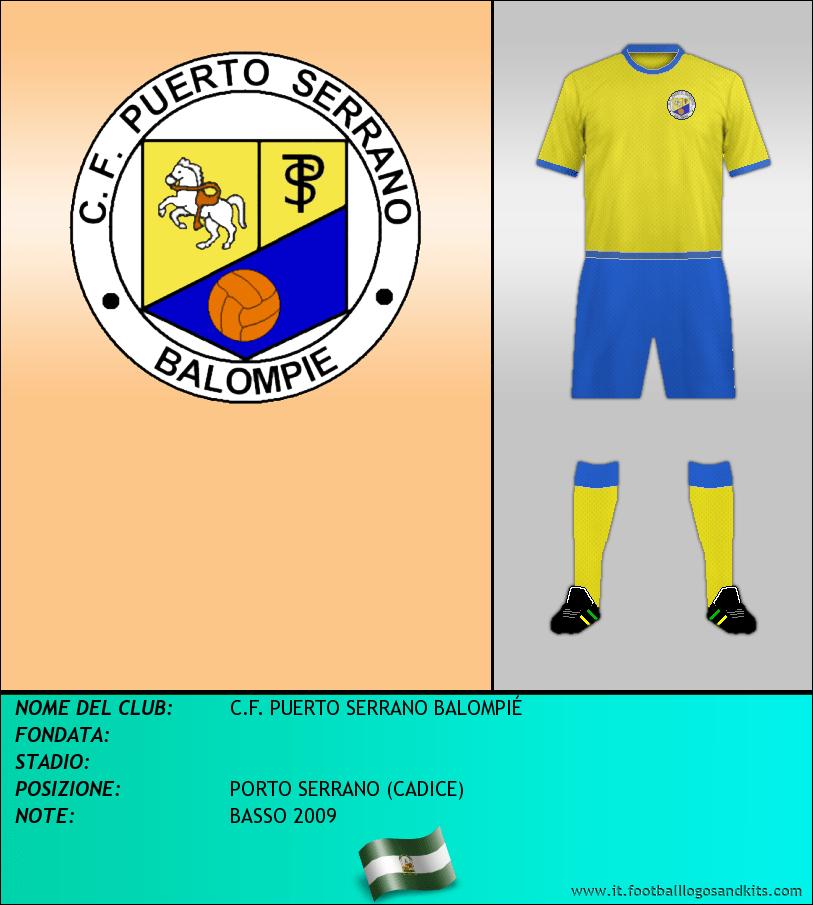 Logo di C.F. PUERTO SERRANO BALOMPIÉ