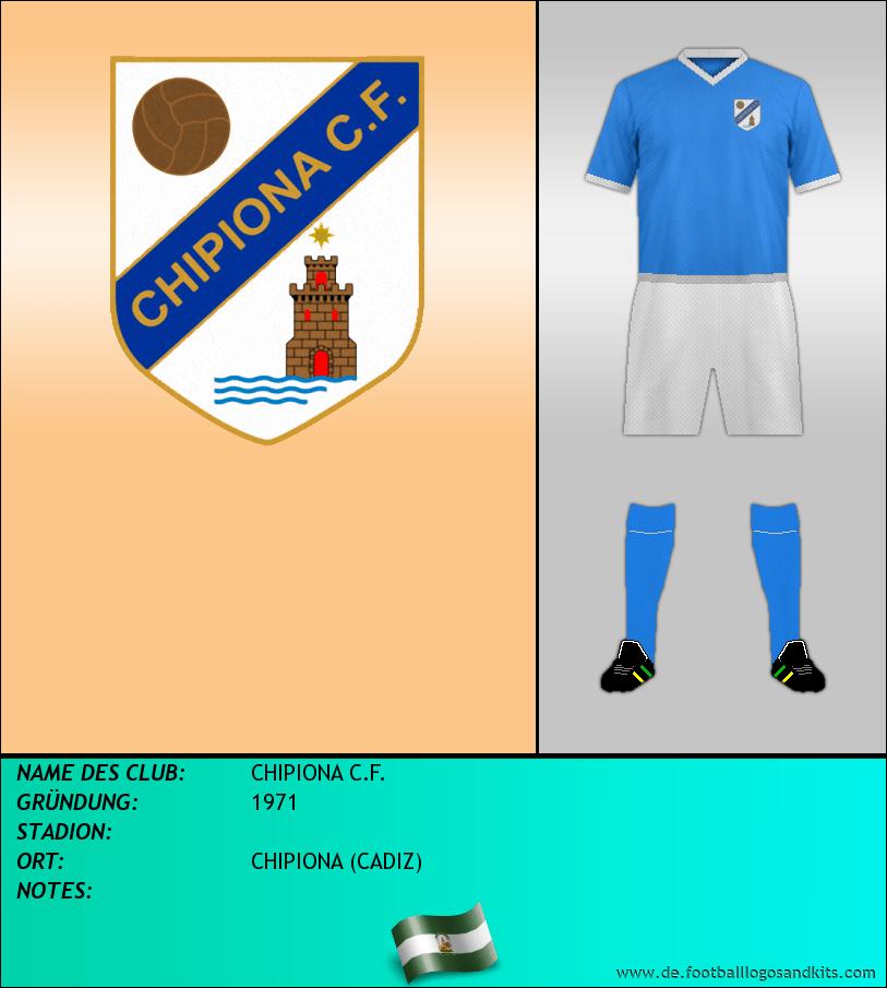 Logo CHIPIONA C.F.
