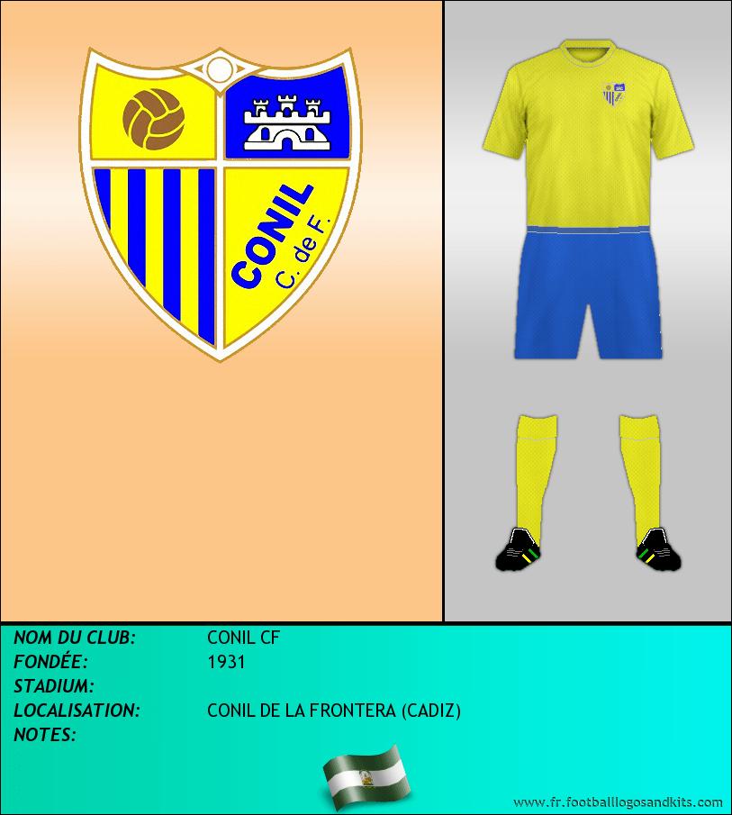 Logo de CONIL CF