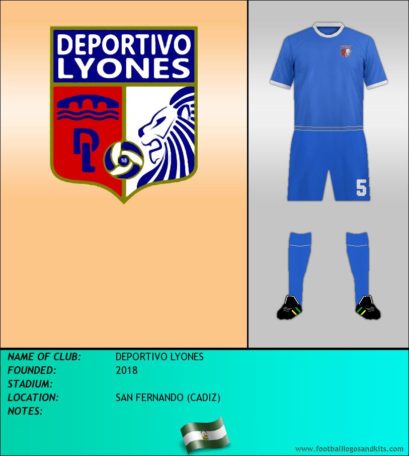 Logo of DEPORTIVO LYONES