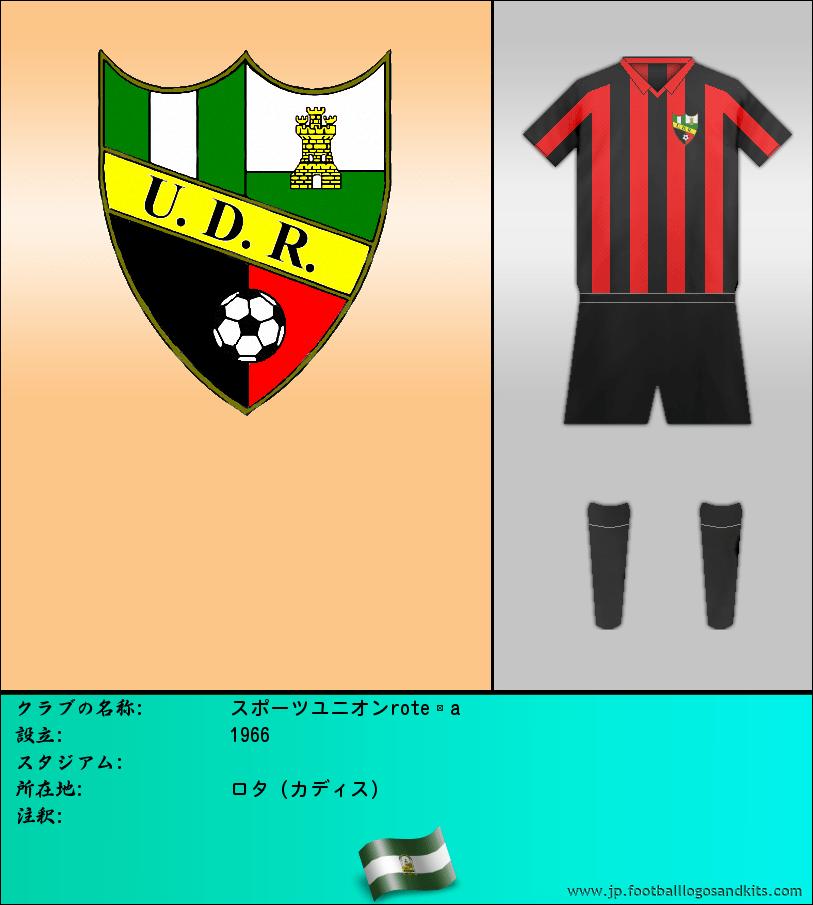 のロゴスポーツユニオンroteña