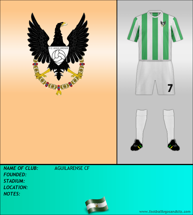 Logo of AGUILARENSE CF