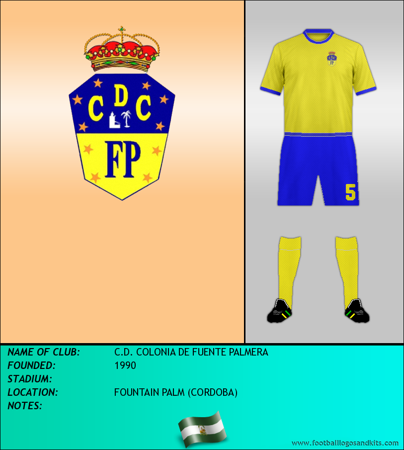 Logo of C.D. COLONIA DE FUENTE PALMERA