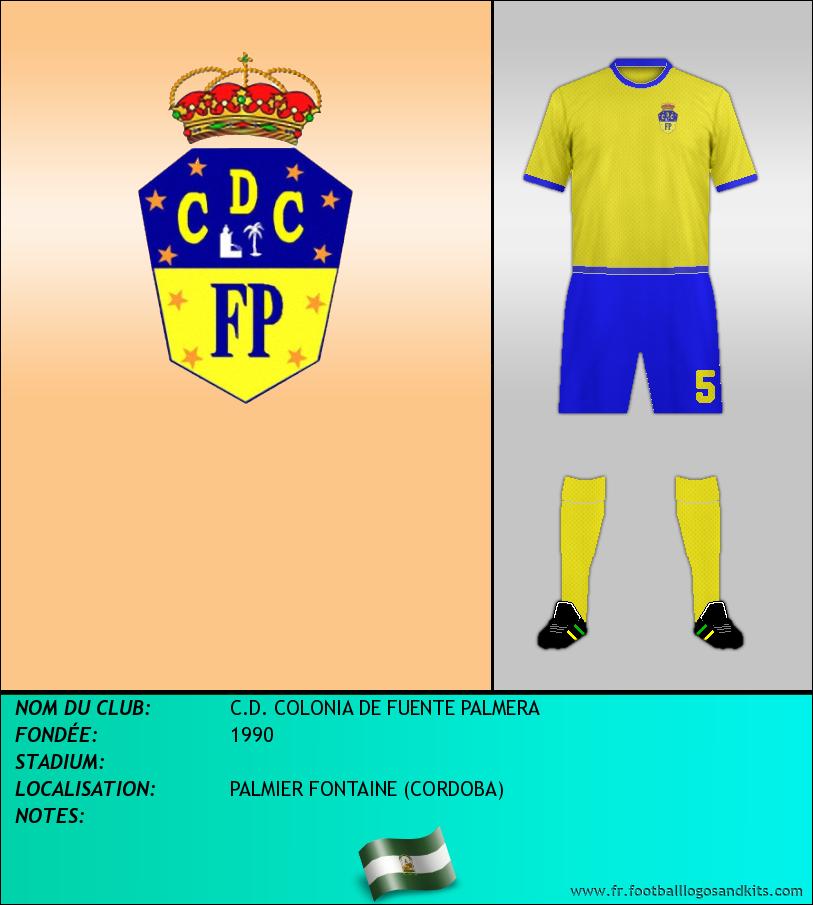 Logo de C.D. COLONIA DE FUENTE PALMERA