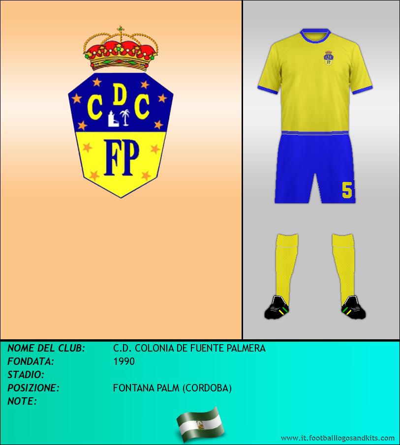 Logo di C.D. COLONIA DE FUENTE PALMERA