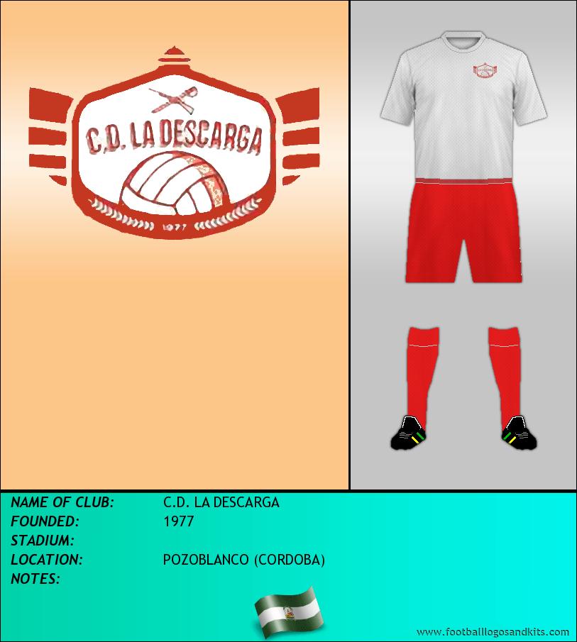 Logo of C.D. LA DESCARGA