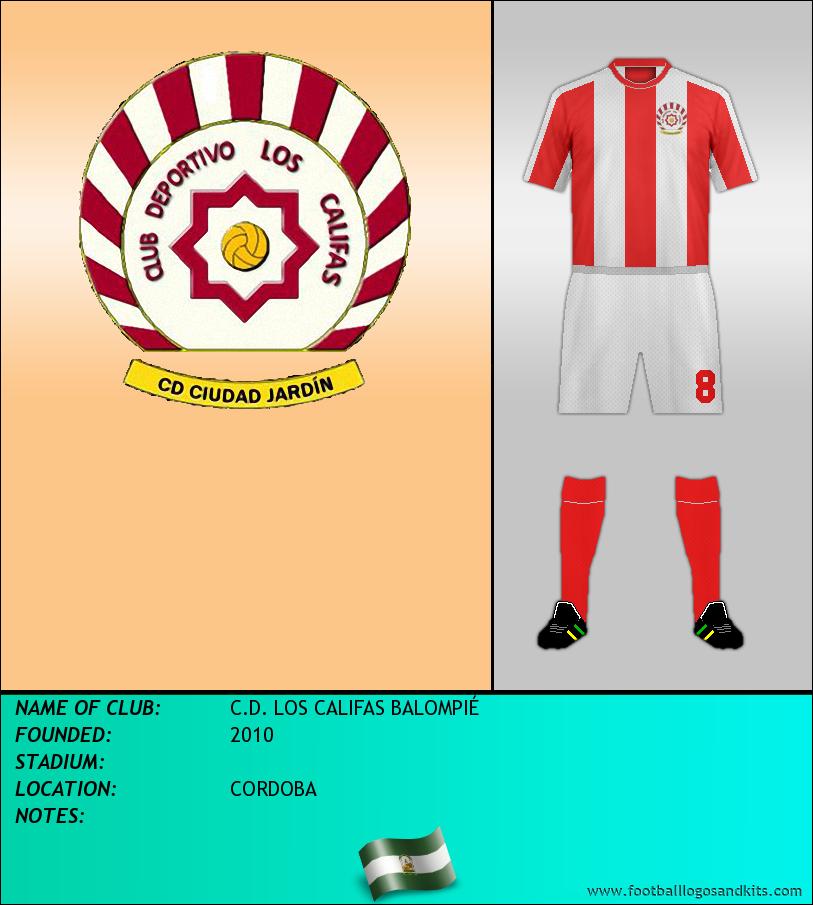 Logo of C.D. LOS CALIFAS BALOMPIÉ