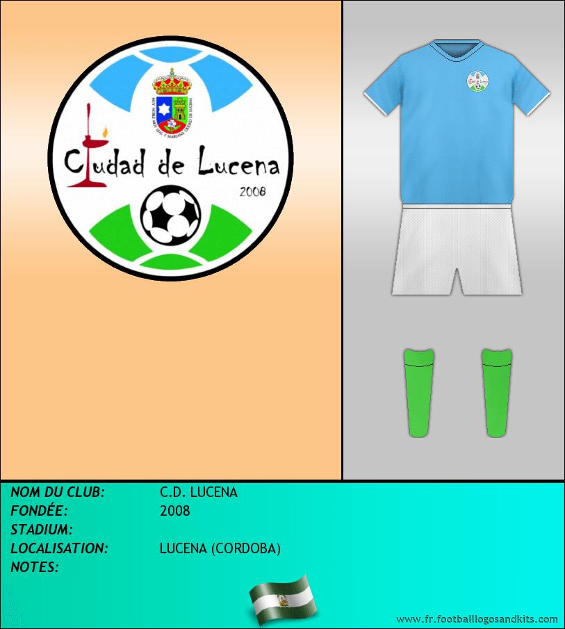 Logo de C.D. LUCENA