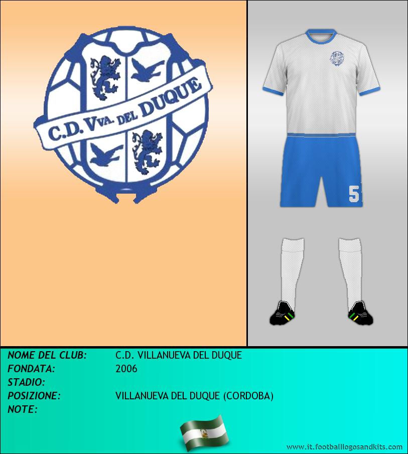 Logo di C.D. VILLANUEVA DEL DUQUE