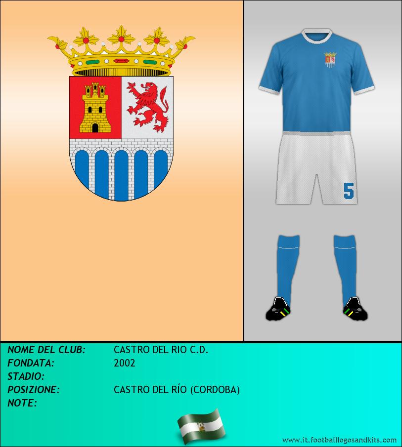 Logo di CASTRO DEL RIO C.D.