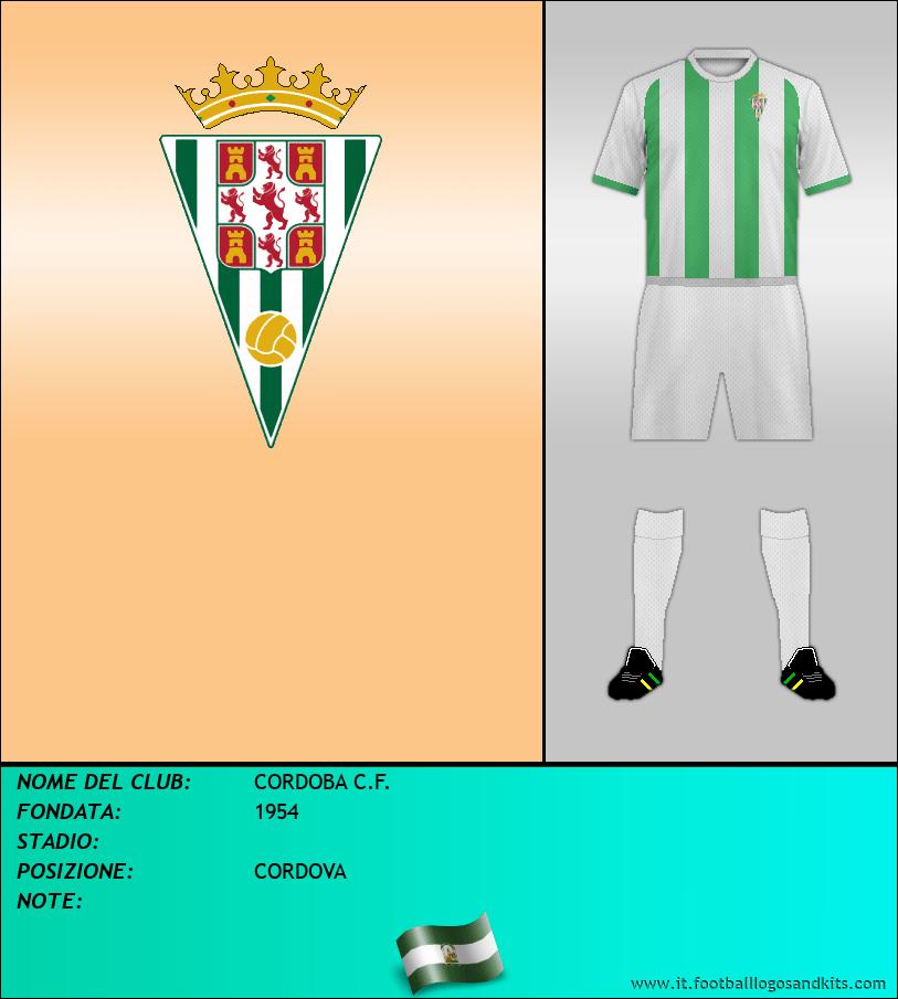Logo di CORDOBA C.F.