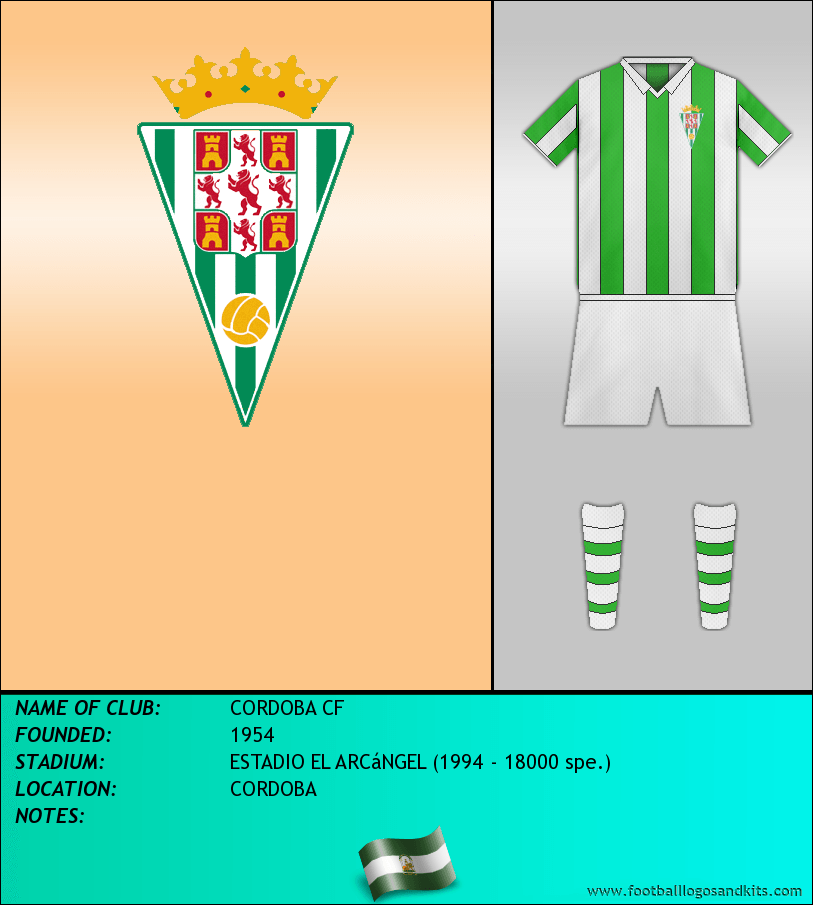 Logo of CORDOBA CF