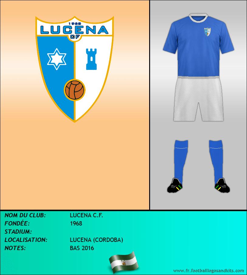 Logo de LUCENA C.F.