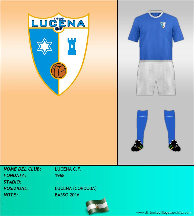 Logo di LUCENA C.F.