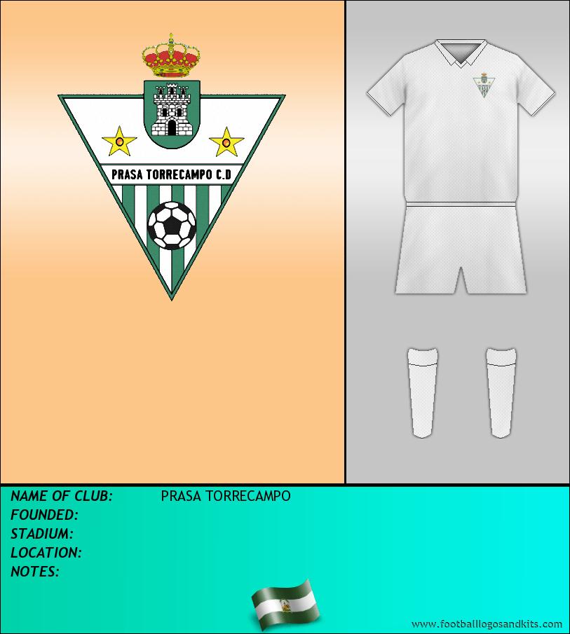 Logo of PRASA TORRECAMPO