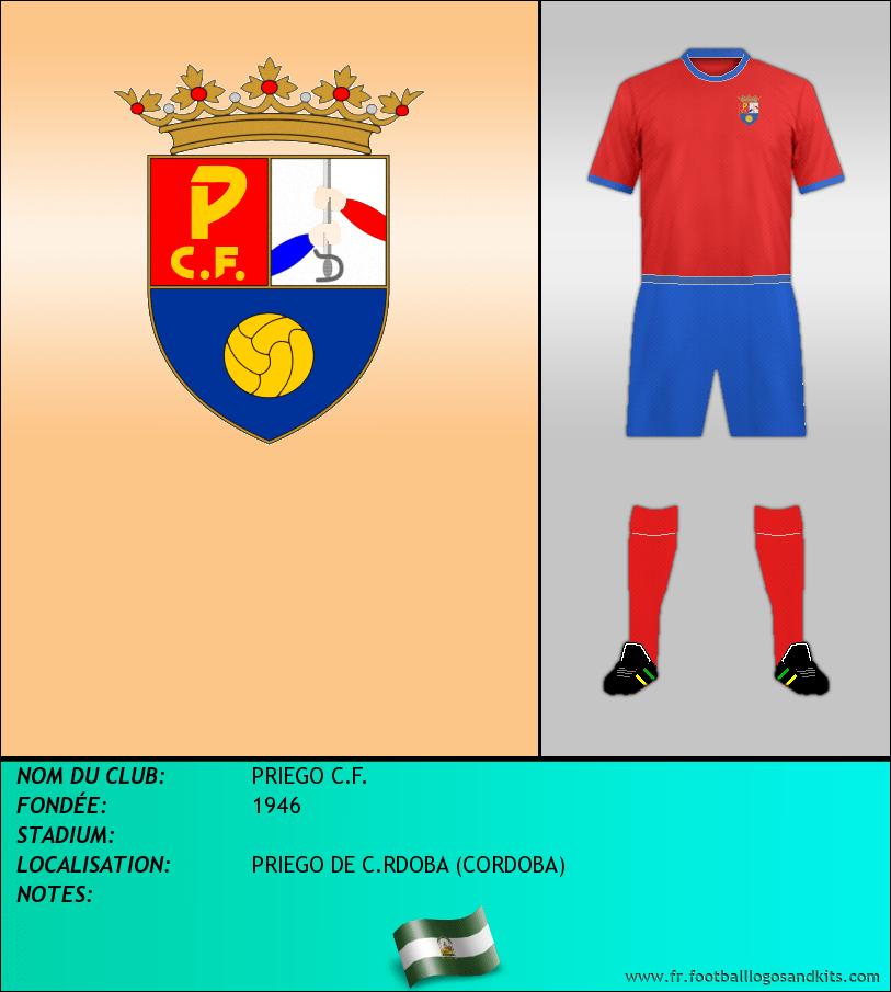 Logo de PRIEGO C.F.