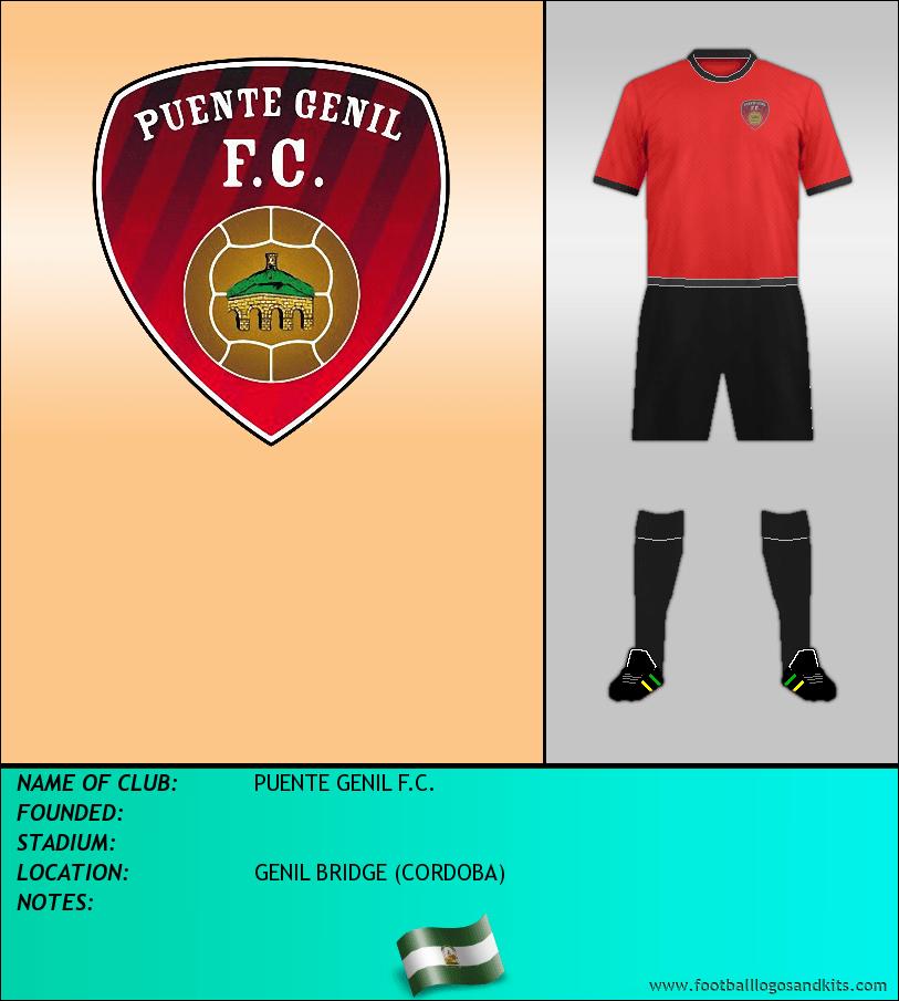 Logo of PUENTE GENIL F.C.