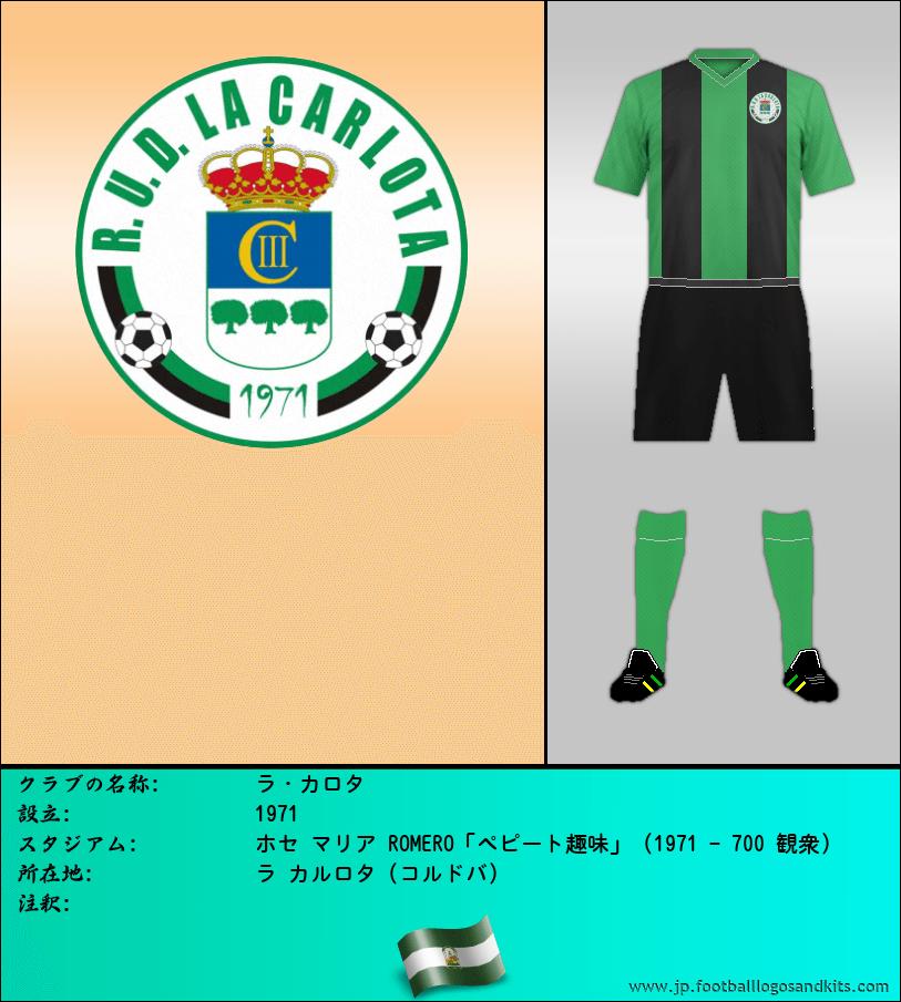 のロゴR.U.D. ラ カルロタ
