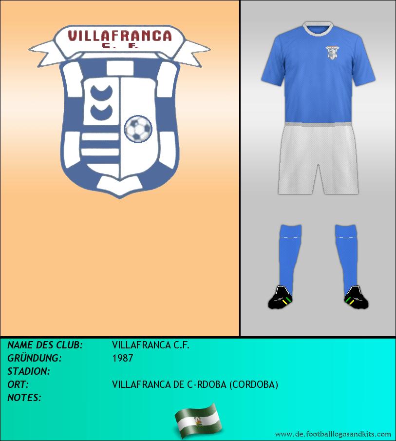 Logo VILLAFRANCA C.F.