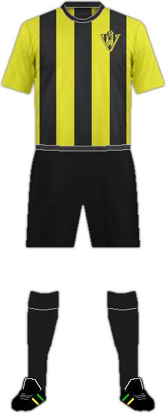 キットChauchinaフットボールクラブ