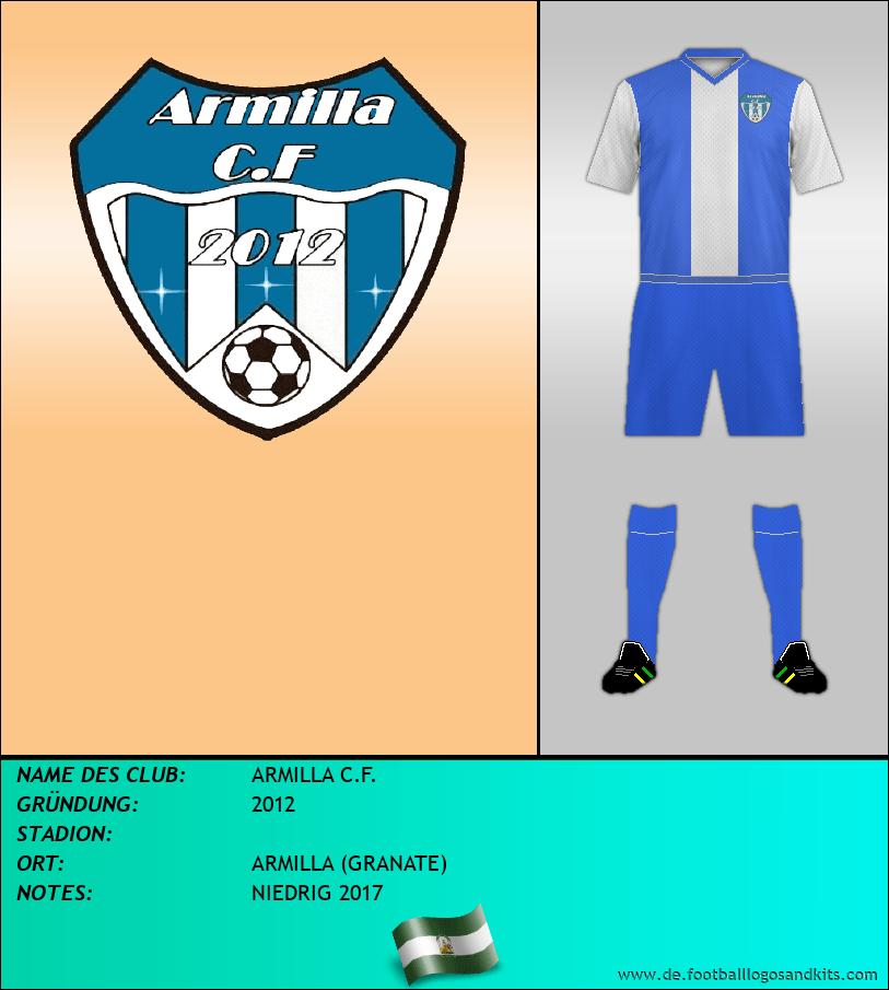 Logo ARMILLA C.F.