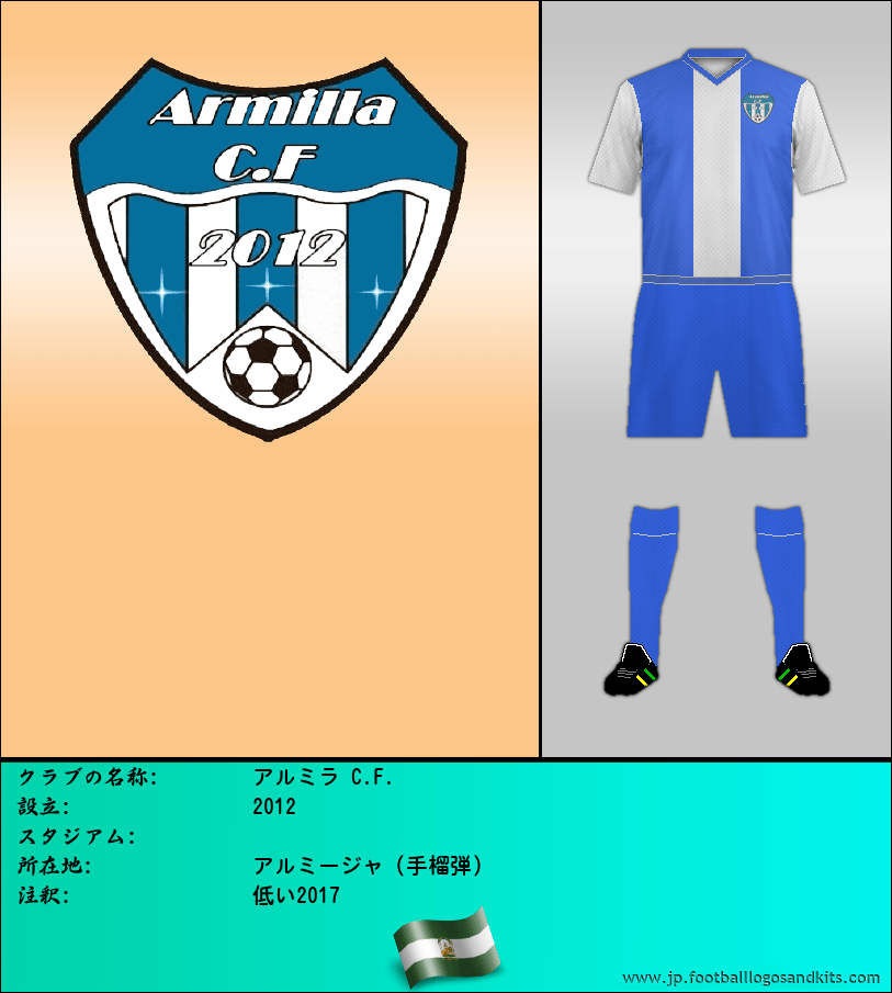 のロゴARMILLA C. F.