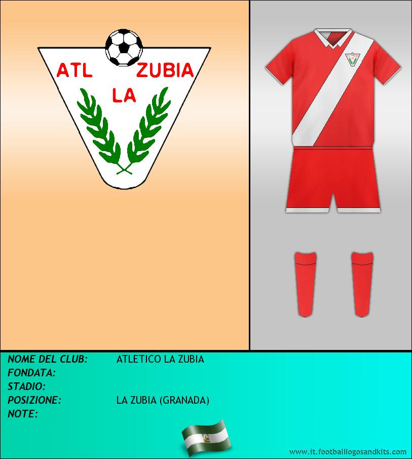 Logo di ATLETICO LA ZUBIA