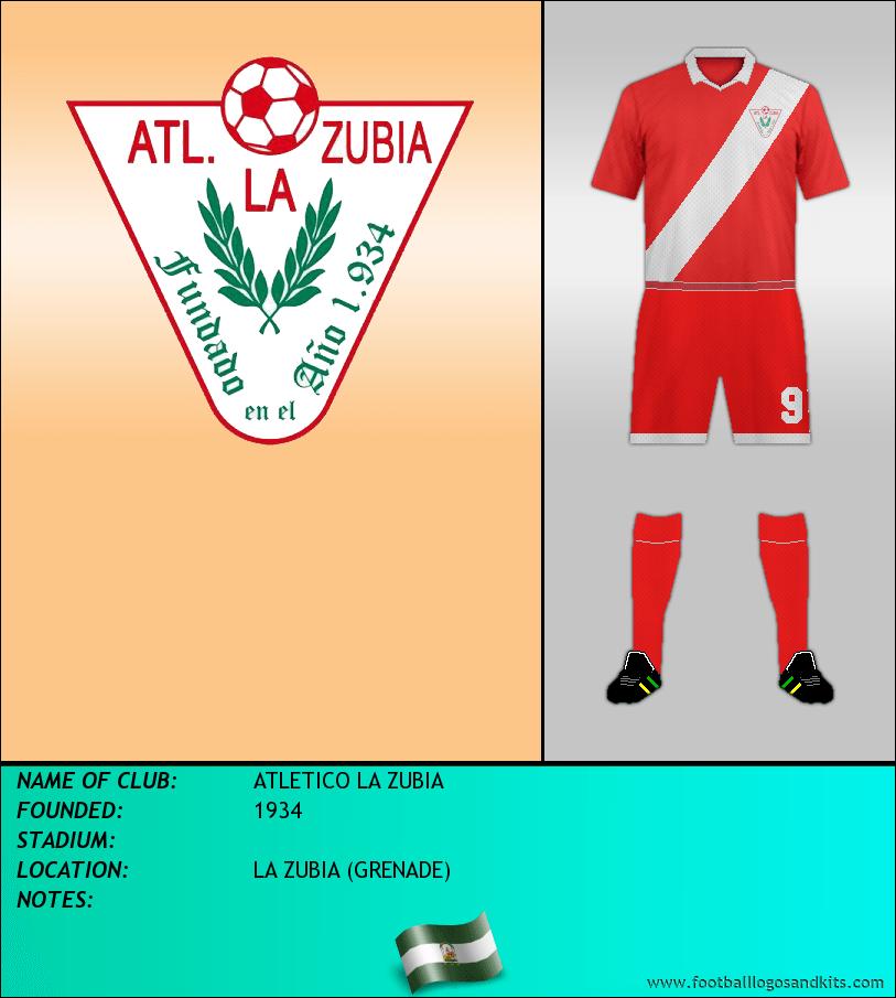 Logo of ATLETICO LA ZUBIA