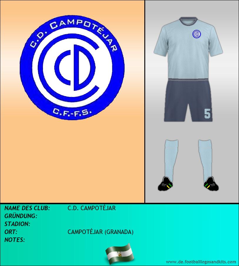 Logo C.D. CAMPOTÉJAR