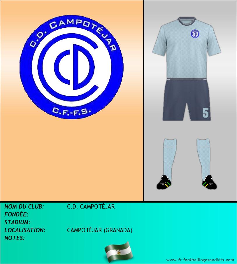 Logo de C.D. CAMPOTÉJAR