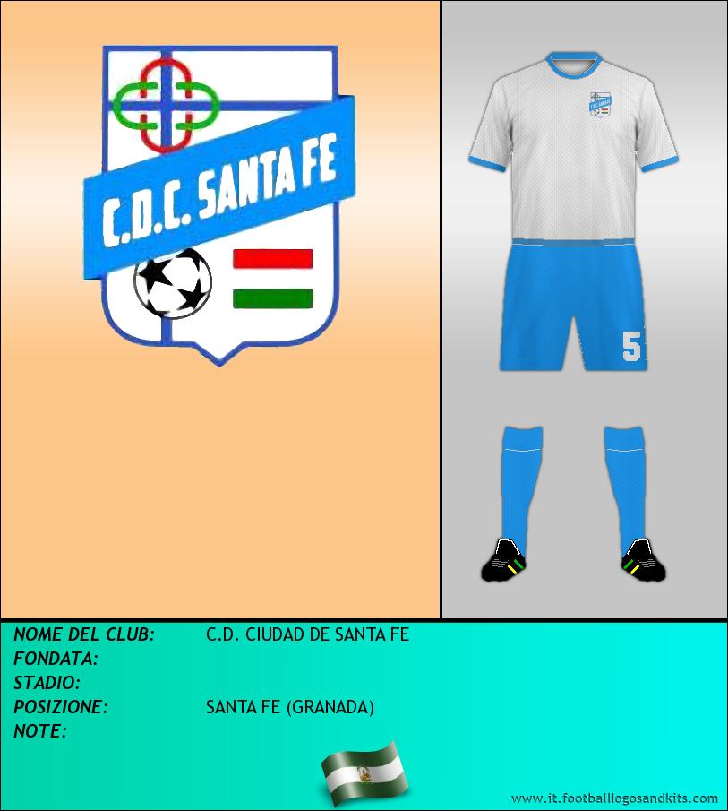 Logo di C.D. CIUDAD DE SANTA FE