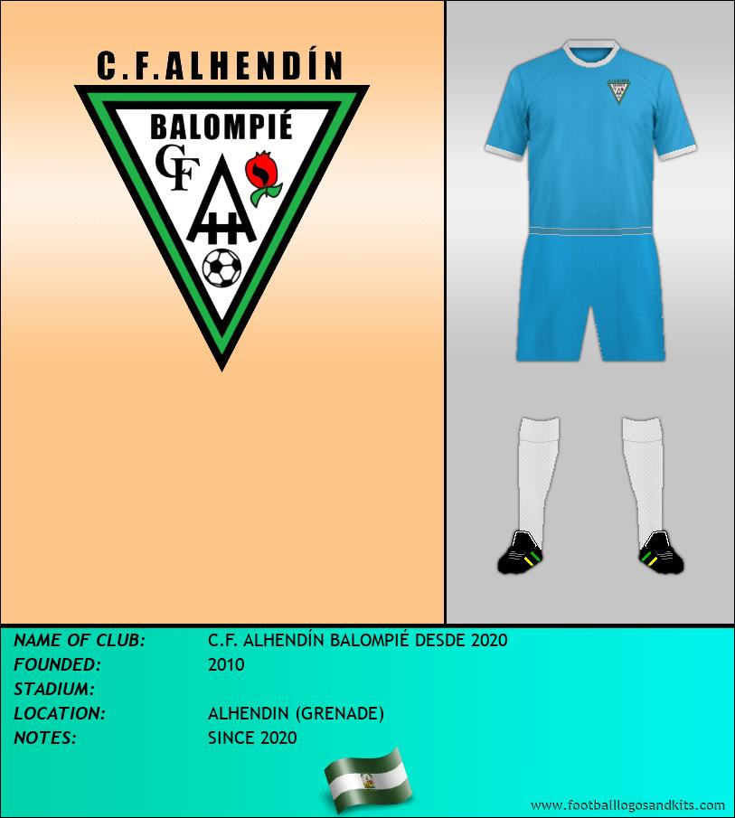 Logo of C.F. ALHENDÍN BALOMPIÉ DESDE 2020
