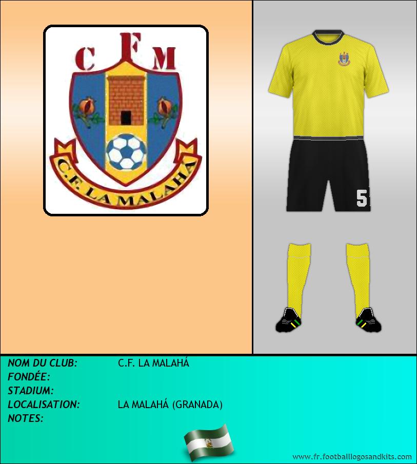 Logo de C.F. LA MALAHÁ