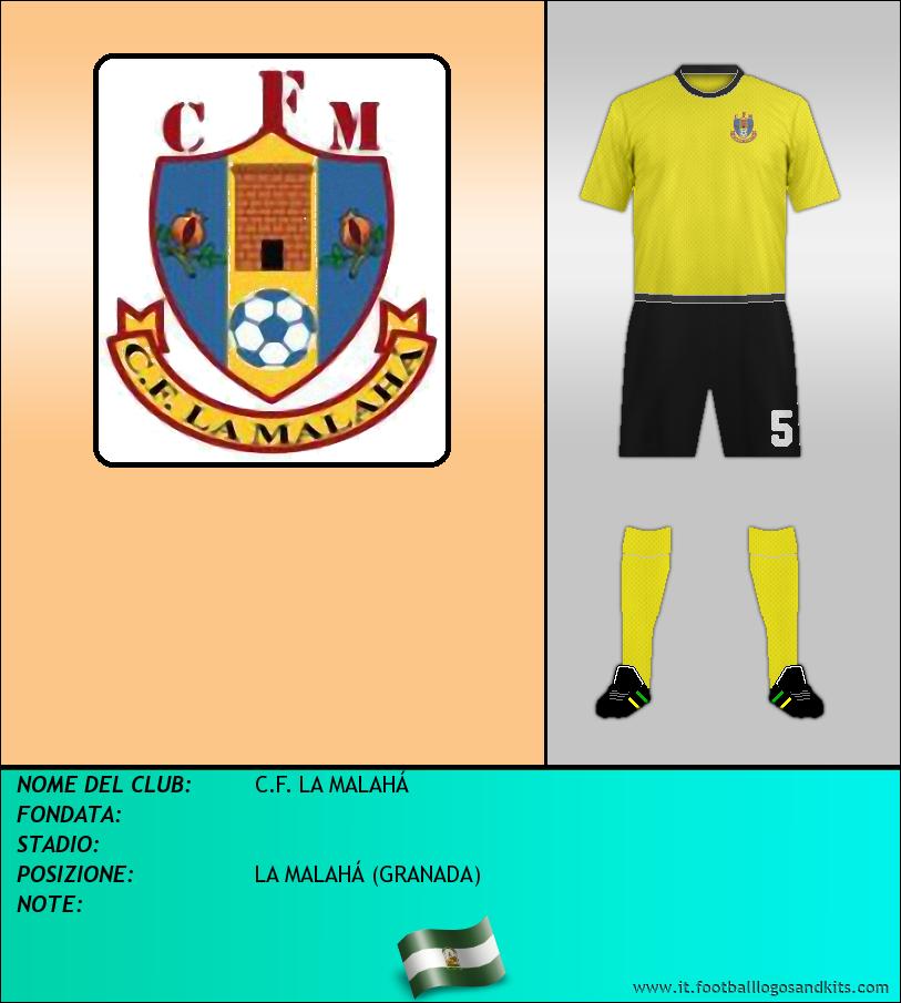 Logo di C.F. LA MALAHÁ