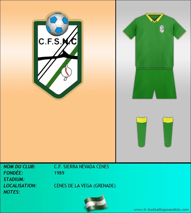 Logo de C.F. SIERRA NEVADA CENES