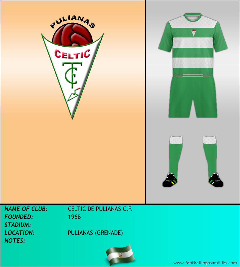 Logo of CELTIC DE PULIANAS C.F.